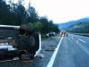 Verkehrsunfall A2 FF Gödersdorf gemeinsam mit HFW VIllach