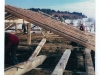 1976 - Aufbauarbeiten nach Stadlbrand Familie