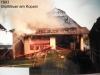 1993 - Wirtschaftsgebäudebrand in Kopain