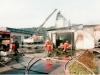 1994 - Großbrand Wattefabrik Lindner in Fürnitz