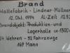 1994 - Brandbeschreibung des Großbrandes Wattefabrik Lindner in Fürnitz