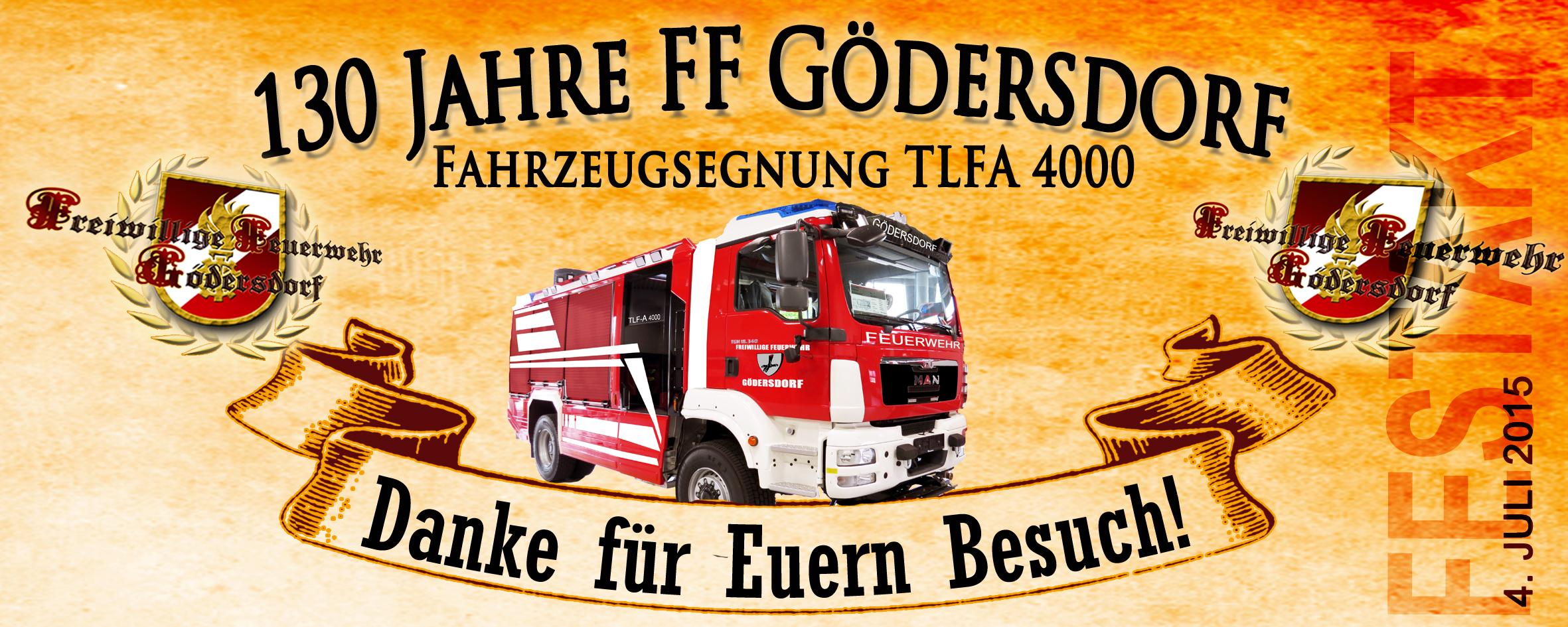 130 Jahre FF Gödersdorf - Danke für's dabei sein!