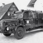 Tanklöschfahrzeug der Marke Steyr