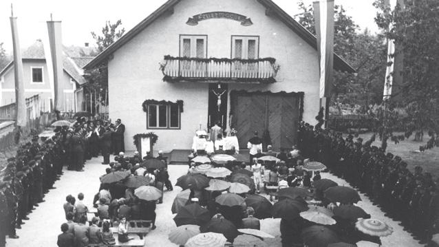 Rüsthausweihe, 1957