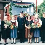 Feierliche Weihe des neuen Tanklöschfahrzeuges, 1996