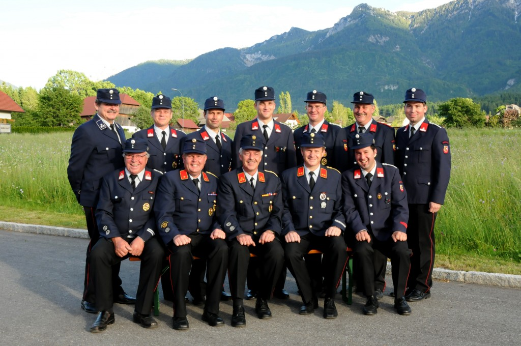 Ausschussmitglieder der Freiwilligen Feuerwehr Gödersdorf