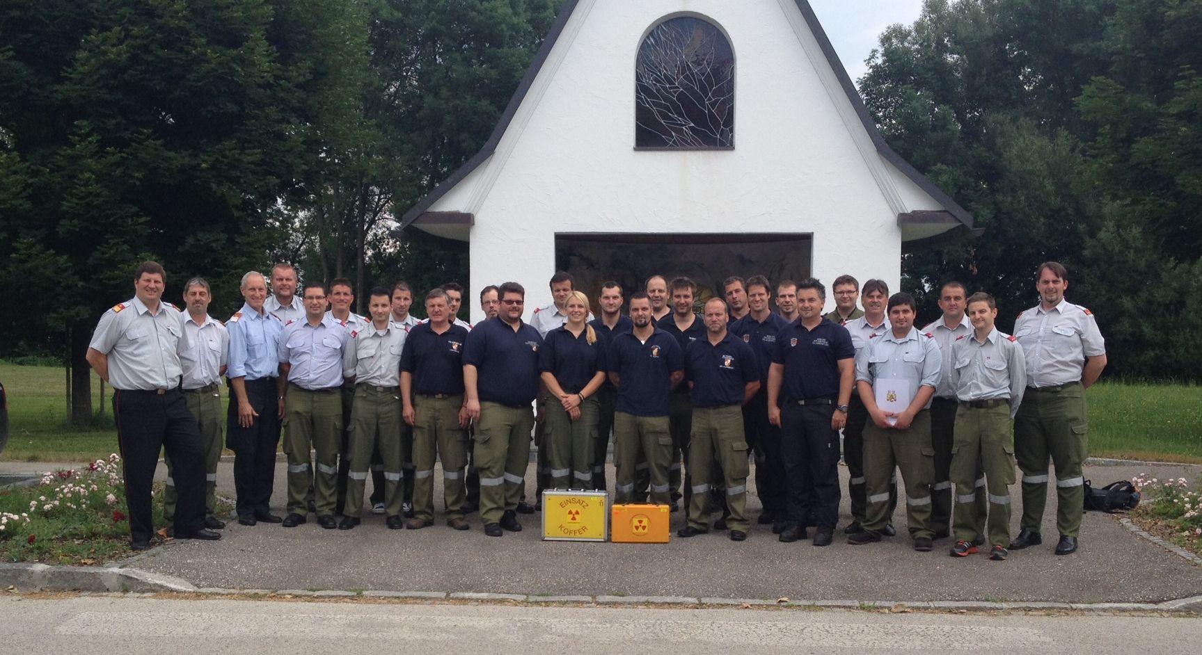 Absolventen Strahlenschutzlehrgang KLFV  2014-Mitglieder der FF Gödersdorf