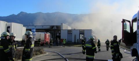 Automatische Brandmeldeanlage verhindert Großbrand