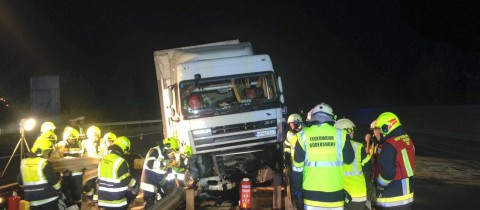 Verkehrsunfall A2 Südautobahn