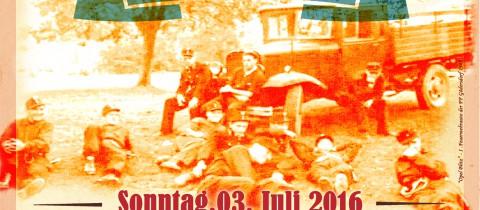 Frühschoppen mit Fahrzeugweihe am 03. Juli 2016 ab 10.00 Uhr