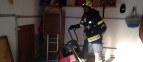 Vermeintlicher Kellerbrand in Fürnitz