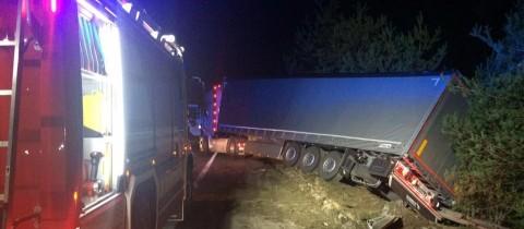 Schwerer LKW Unfall A2
